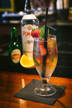 Pimms on Fire